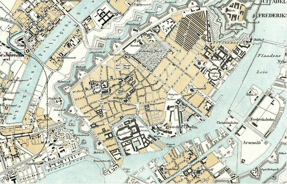 kort over Bonbonland København massage